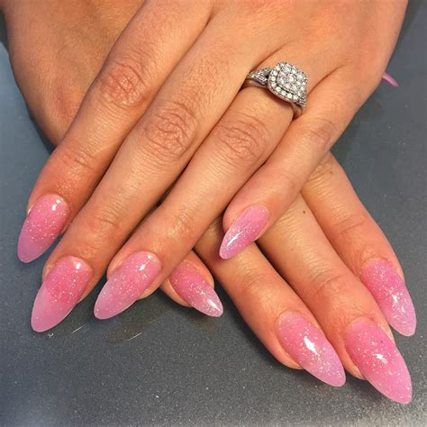 Pink Nail by 25 Pink Acrylic Nail Designs Ideas Design Trends