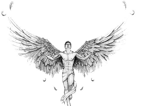 angel tattoo png download angel tattoos transparent hq png image freepngimg
