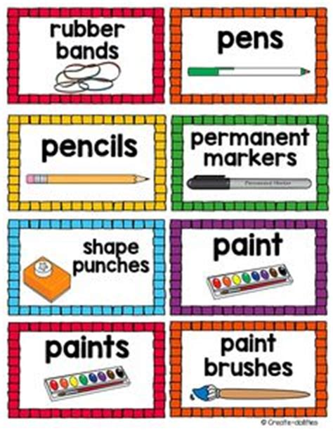 printable calendar labels for classroom 1000 images about classroom labels on pinterest