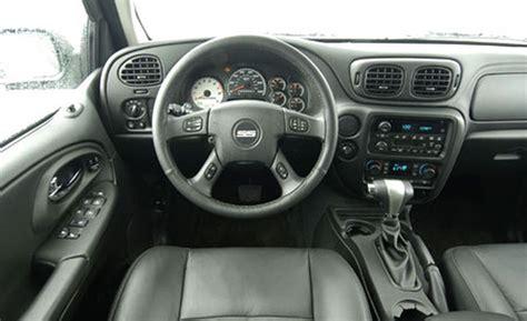 Trailblazer Interior car and driver