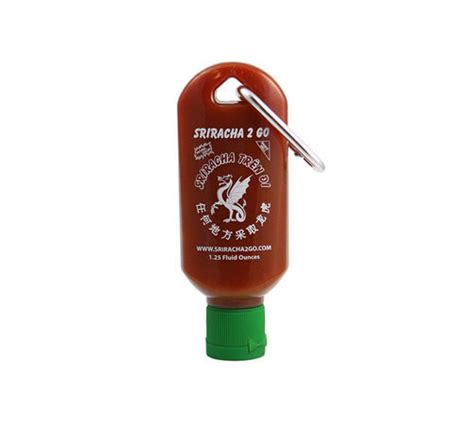 Keychain Sriracha Mini Sriracha Bottle