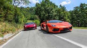 F12 Vs Slideshow Road Couture F12 Vs Lamborghini Aventador