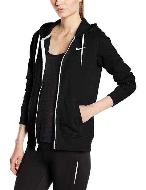 Hoodie Zipper Sweater Logo Nike black nike zip hoodie s aztec sweater dress