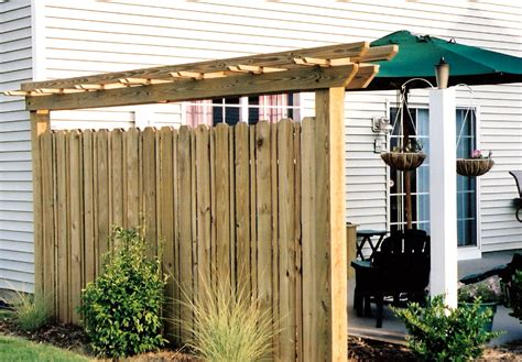backyard privacy wall outdoor deck privacy screen ideas