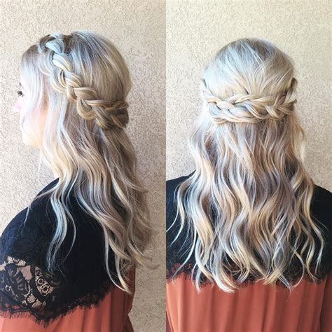 Formal Braided Hairstyles by Braided Half Up Half Hair We This Curl Up And