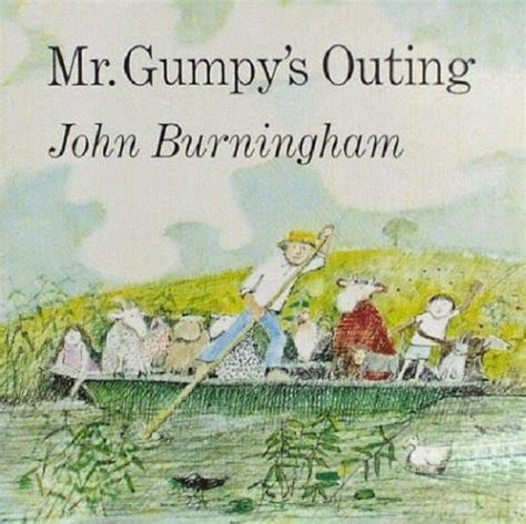 libro mr gumpys outing the way to the zoo by john burningham