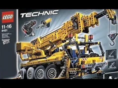 motorized crane lego technic motorized big crane 8421