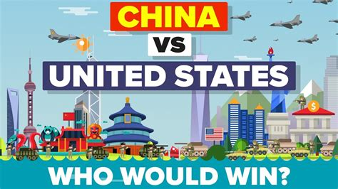 map of usa vs china china vs united states usa 2016 who would win