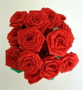 Make Crepe Paper Roses - make crepe paper roses dollar store crafts