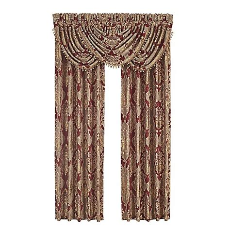 buy curtains nyc buy j queen new york crimson 84 inch rod pocket window