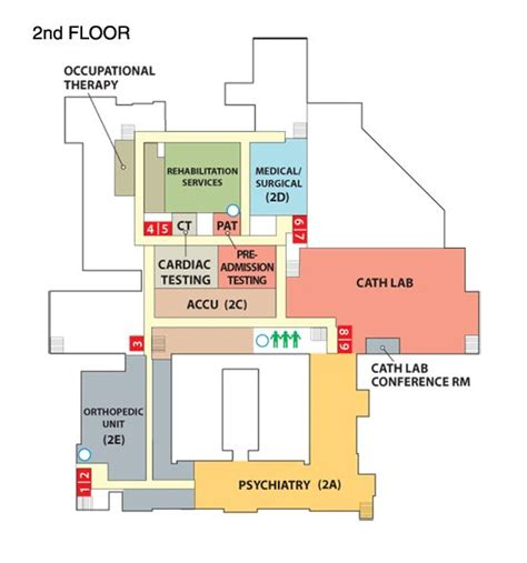 java layout north south center floor 2 hospital pinterest floors hospitals and maps