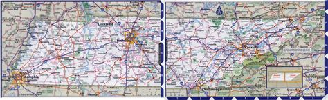 tennessee map large detailed roads and highways map of tennessee state