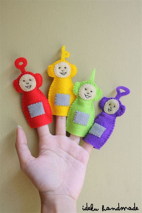 Handmade Puppets Patterns - 13 best images about teletubbies diy on