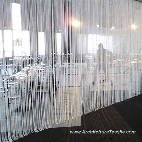 tende con frange tenda millefili tessuto decorativo frange decoro vetrine
