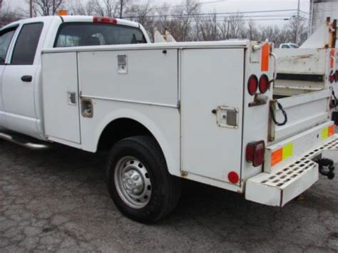 stahl utility bed purchase used nice running utility stahl service bed truck