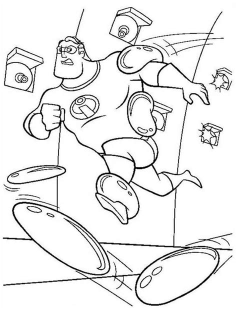 disney coloring pages incredibles the incredibles coloring pages and print the
