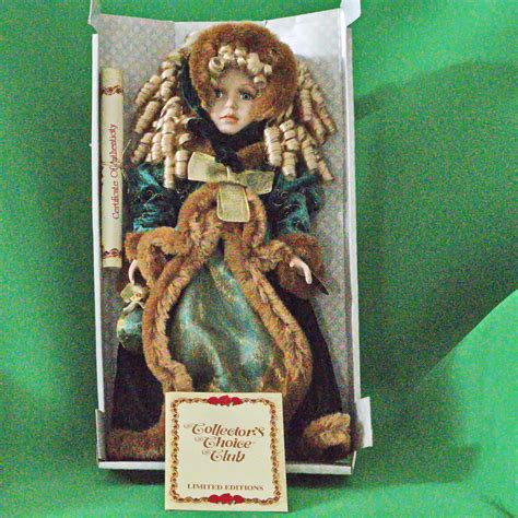 porcelain doll dm 33 classic treasures collector s choice special edition 17