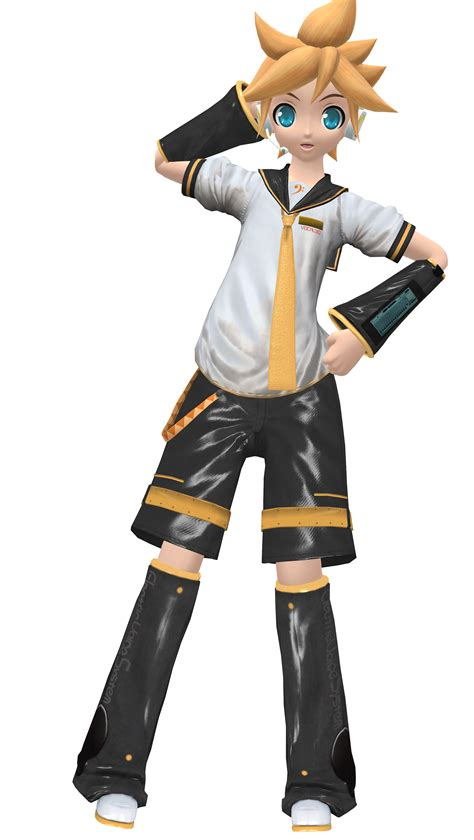 len 3d mmd kagamine len normal map remade by mil o on deviantart