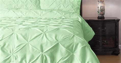 total fab alive breezy cool mint colored bedding  comforter sets
