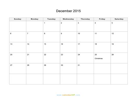 free printable december 2015 calendar with notes december 2015 calendar blank printable calendar template