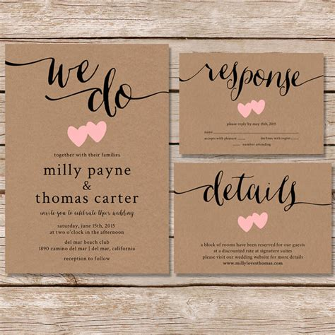 20 rustic wedding invitations any will stylecaster