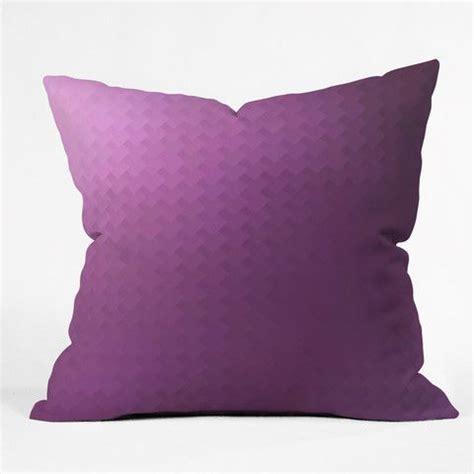 Fuschia Throw Pillows by Deniz Ercelebi Fuschia Throw Pillow
