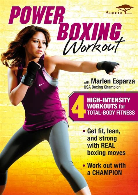 c section exercise dvd boxing workout dvd giveaway