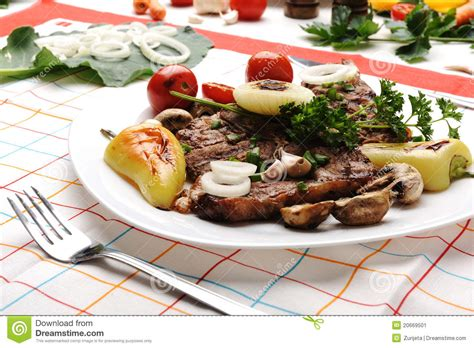 beautiful plates beautiful served food on plate stock image image 20669501
