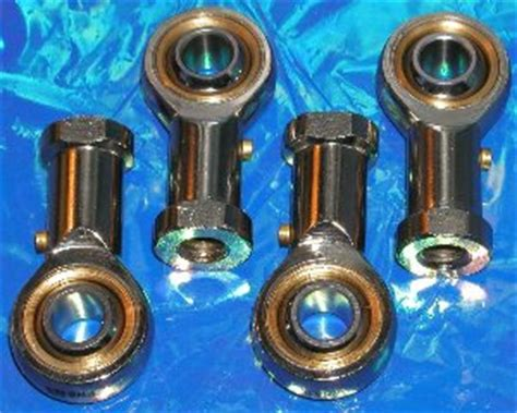 Rod End Bearing Phs8 Right 4 rod end heim joints 8mm phs8 2 right 2 left