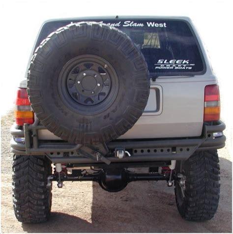 Jeep Xj Rear Tire Carrier Zj Grand Pre Runner Rear Bumper With Tire Carrier