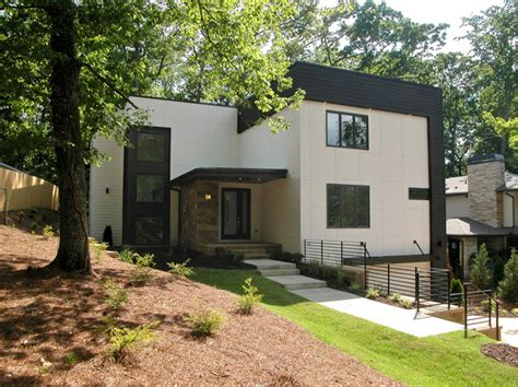 Home Exterior Design Atlanta Modern Homes Modern Exterior Atlanta By Epic