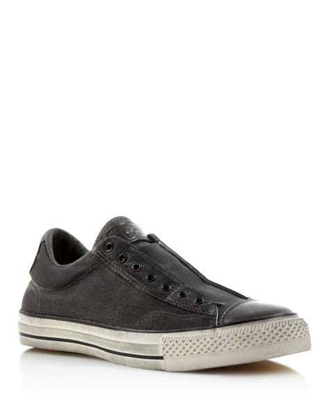 all sneakers for lyst converse all vintage slip on sneakers in gray