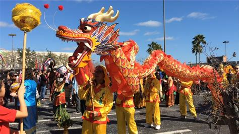 new year parade dragons galore at lunar new year celebration in orlando hoy