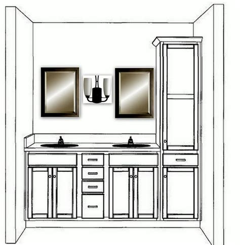 bathroom vanity with linen cabinet 17 of 2017 s best small double vanity ideas on pinterest
