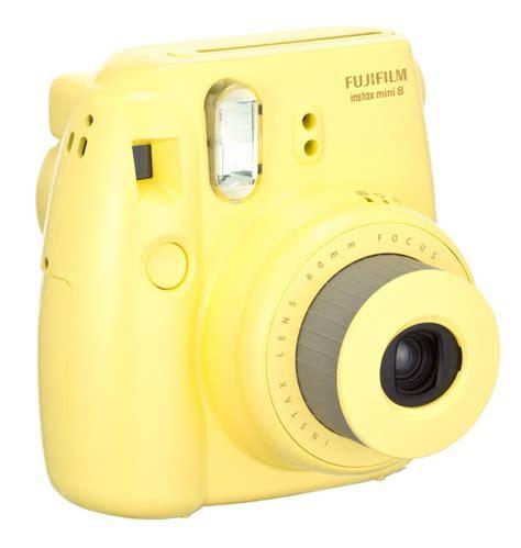 yellow polaroid fuji instax mini 8 instant yellow polaroid type ebay