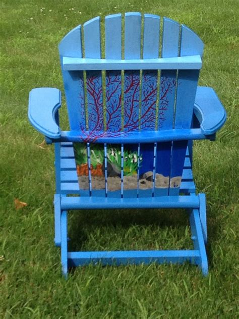 Painted Adirondack Chairs by Painted Adirondack Chair