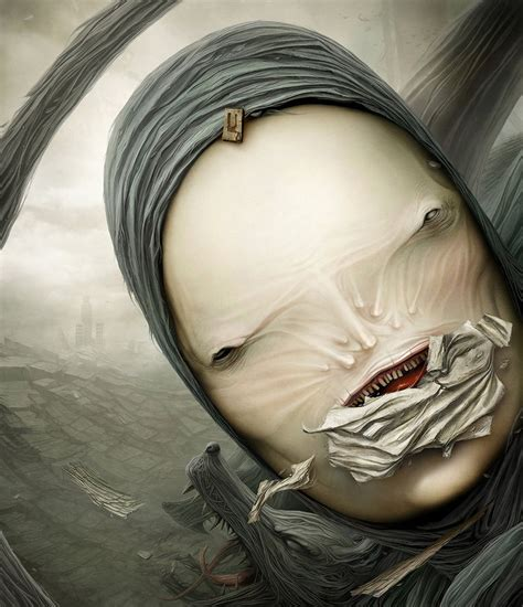 horror  spooky digital art  anton semenov crispme