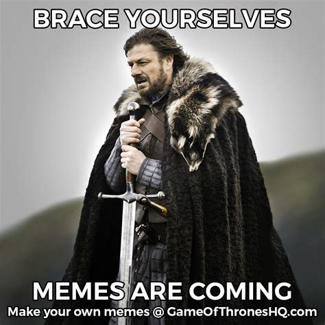 Make A Brace Yourself Meme - brace yourself meme birthday www imgkid com the image