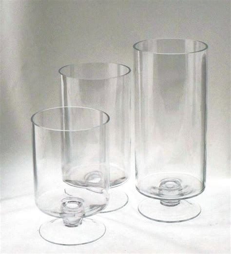 wholesale clear glass hurricane vases buy glass