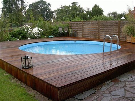 wood pool deck 25 best ideas about above ground pool decks on pinterest