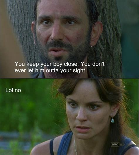 the best memes from season two of the walking dead