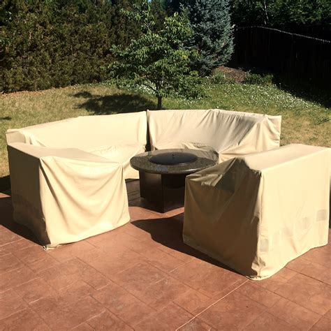 All Weather Outdoor Furniture Cover Curved Patio Outdoor Sectional Furniture Covers