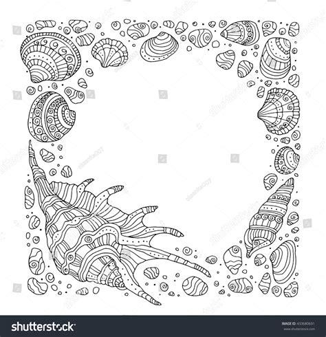 ocean border coloring page 87 ocean border coloring page treasures in the