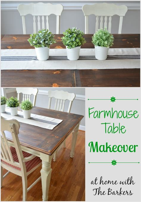 Dining Table Makeover Diy Dining Room Table Makeover Peenmedia