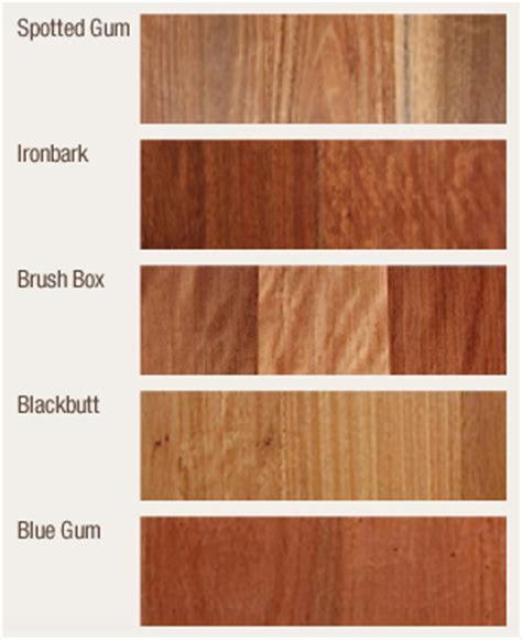 Hardwood Decking Species