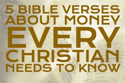 Bible Quotes About The Of Money by Religious Quotes About Money Quotesgram