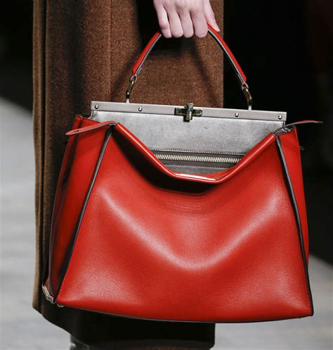 7 Purses For Fall by Fendi Tones It But Just A Bit For Fall 2014 Purseblog