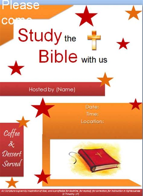 bible study template free bible study templates images