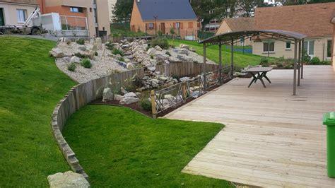 terrain en terrasse jardin en pente jardin jardin en pente