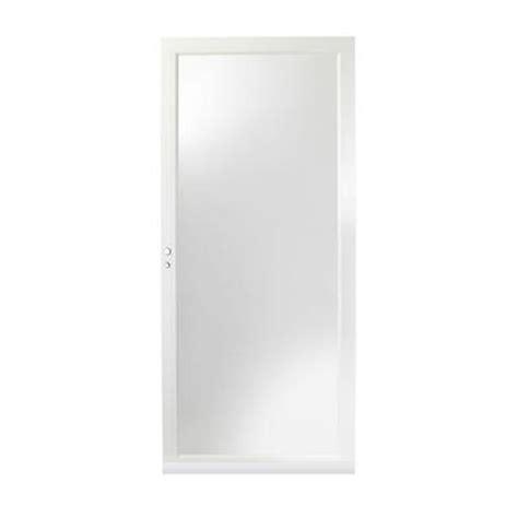 Andersen 4000 Door by Andersen 36 In X 80 In 4000 Series White Fullview Laminated Safety Glass Door Hd4lel36wh